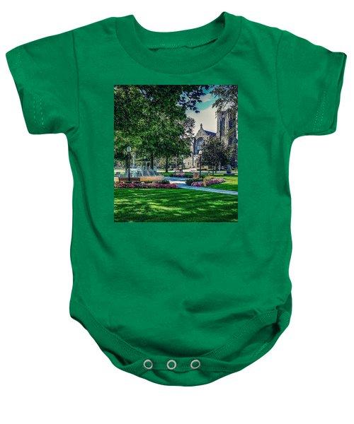 Summer In Juckett Park Baby Onesie