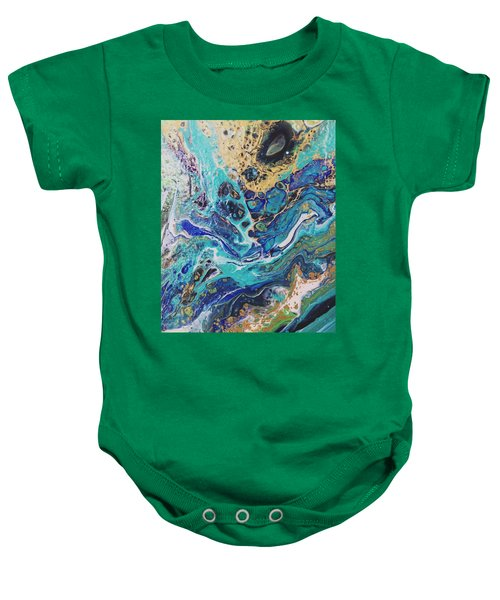 The Deep Blue Sea Baby Onesie
