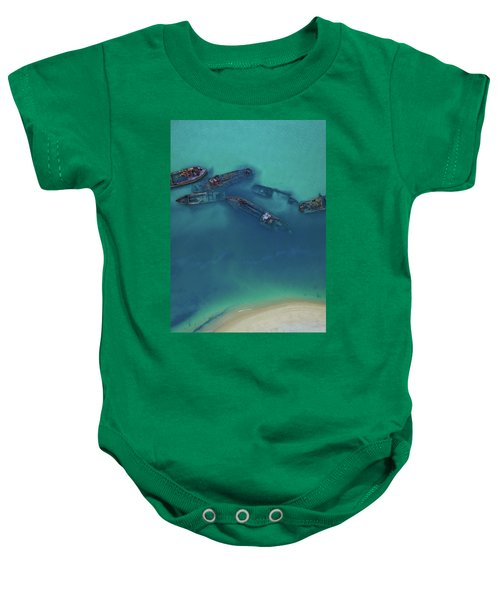 The Wrecks Baby Onesie