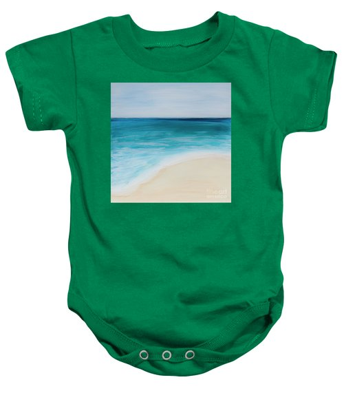 tide Coming In Baby Onesie