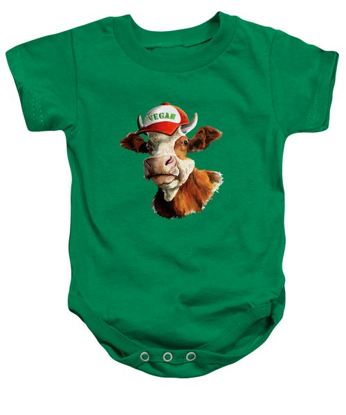 Vegan Baby Onesie by Anthony Mwangi