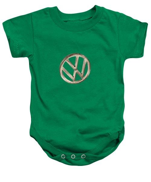 Vw Car Emblem Baby Onesie