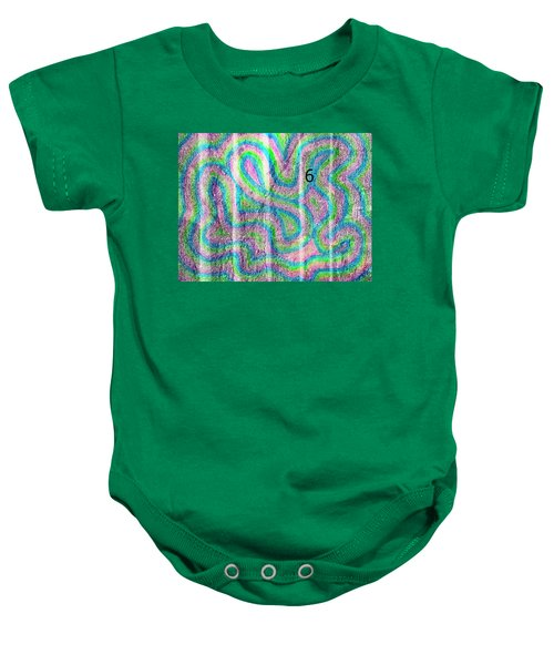 #6 Sidewalk Baby Onesie