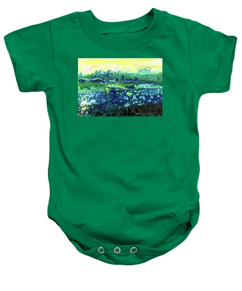 Blueberry Glen Baby Onesie