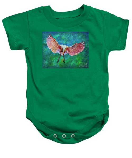Fledgling Flight Baby Onesie