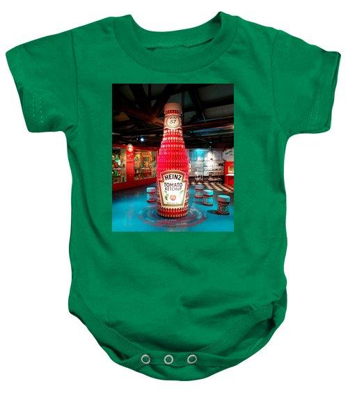 b048dea17 Heinz History Center Ketchup Bottle. Pittsburgh, Pennsylvania Baby Onesie