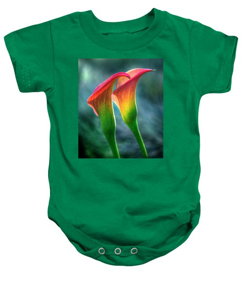 Lilies Baby Onesie