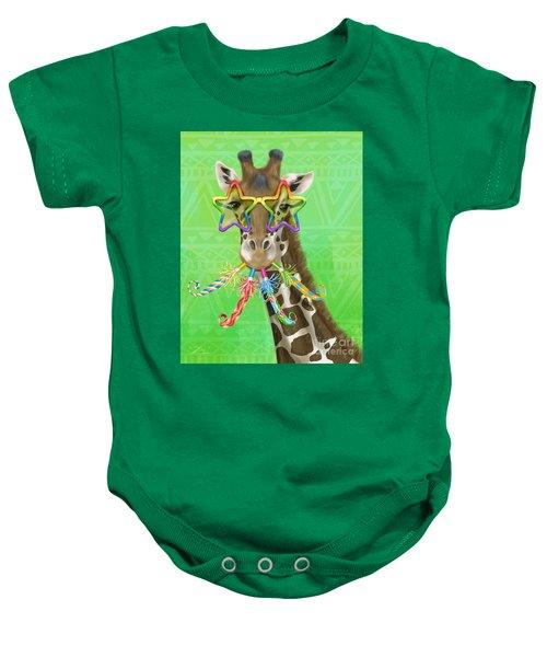 Party Safari Giraffe Baby Onesie