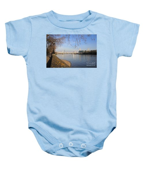 Chelsea Embankment London Uk Baby Onesie