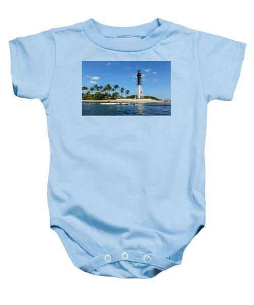 Hillsboro Inlet Lighthouse Baby Onesie