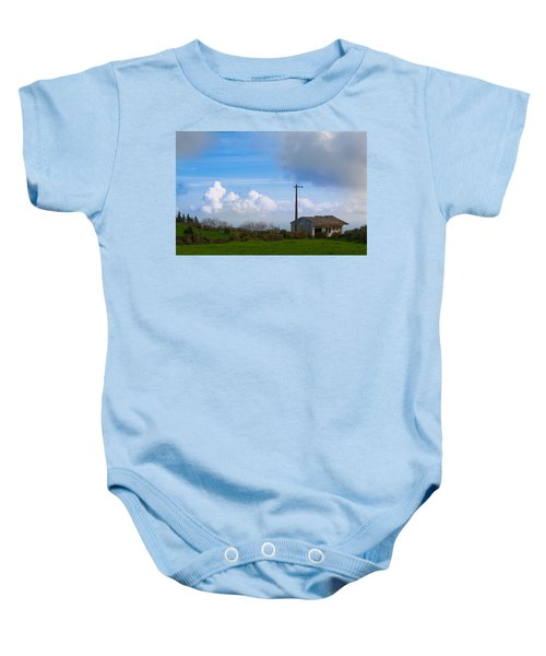 House At End Of The World Baby Onesie
