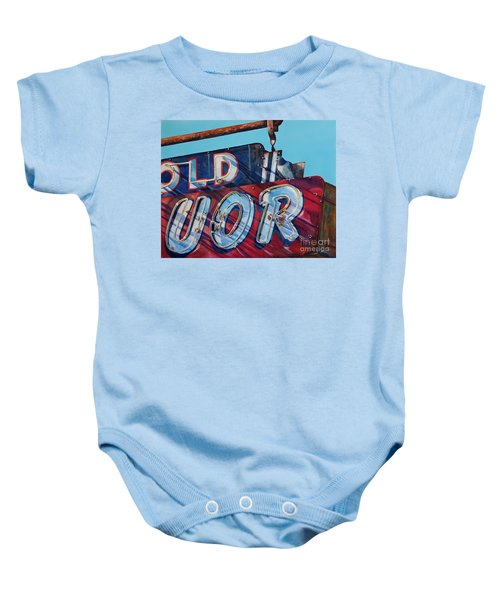 It's Five O'clock Somewhere Baby Onesie