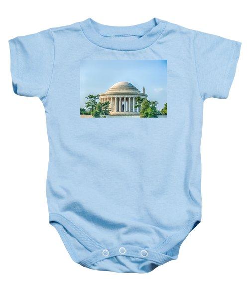 Jefferson Memorial Baby Onesie