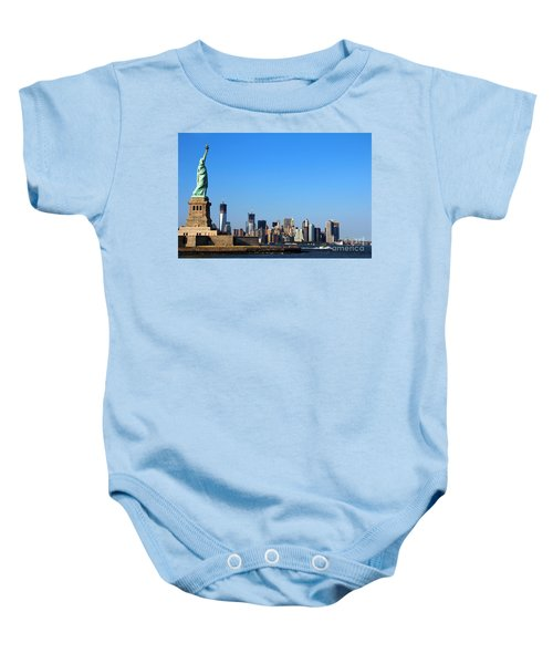 Lady Liberty Watches 1wtc Rise Baby Onesie