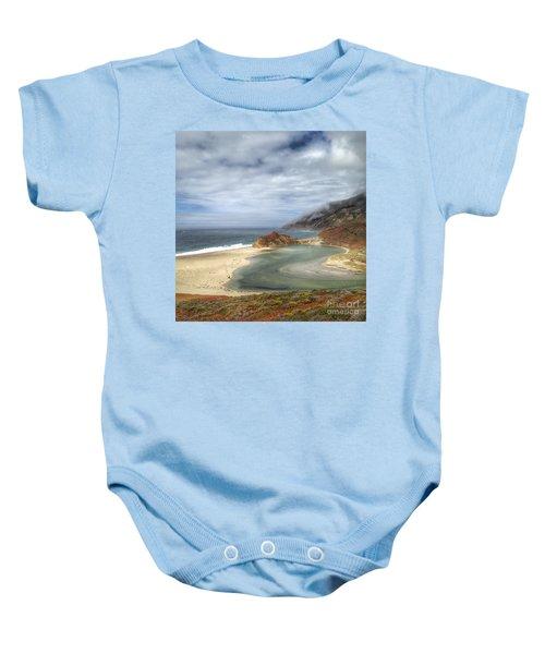 Little Sur River In Big Sur Baby Onesie