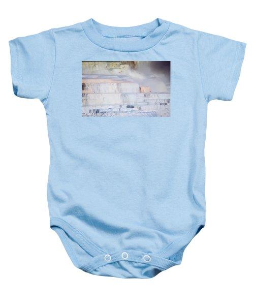 Mammoth Terraces Baby Onesie