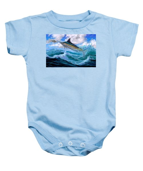 Marlin Low-flying Baby Onesie