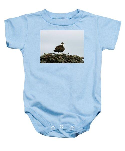 Osprey Nesting Baby Onesie