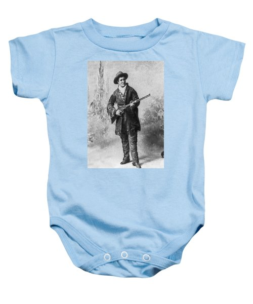 Portrait Of Calamity Jane Baby Onesie by Underwood Archives