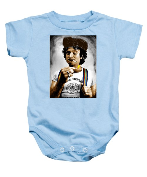 Robin Williams And Quotes Baby Onesie