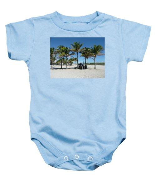 Sand Farm Baby Onesie