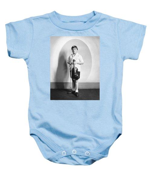 Violinist Yehudi Menuhin Baby Onesie