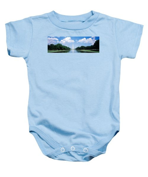 Washington Monument Washington Dc Baby Onesie