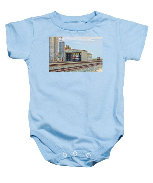 Foster Farms Locomotives Baby Onesie