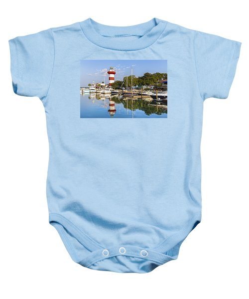 Lighthouse On Hilton Head Island Baby Onesie