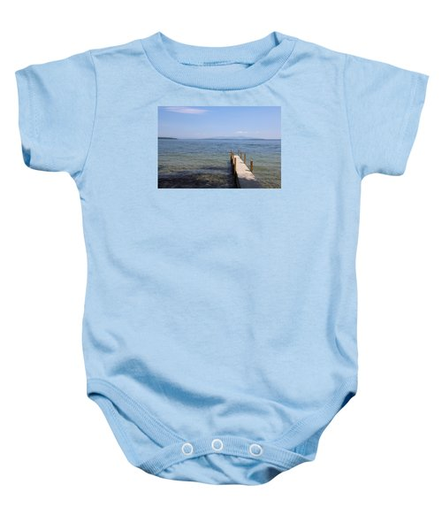 Lake Winnipesaukee Baby Onesie