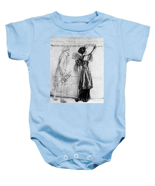 e77983947 1900s Illustration Of Turn Of The 20th Baby Onesie
