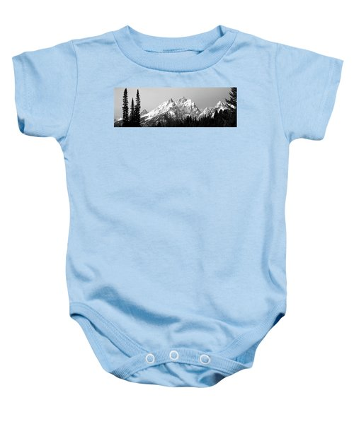 Cathedral Group Grand Teton National Baby Onesie
