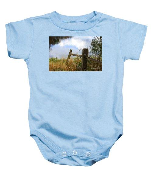 Cloud Reflections Baby Onesie
