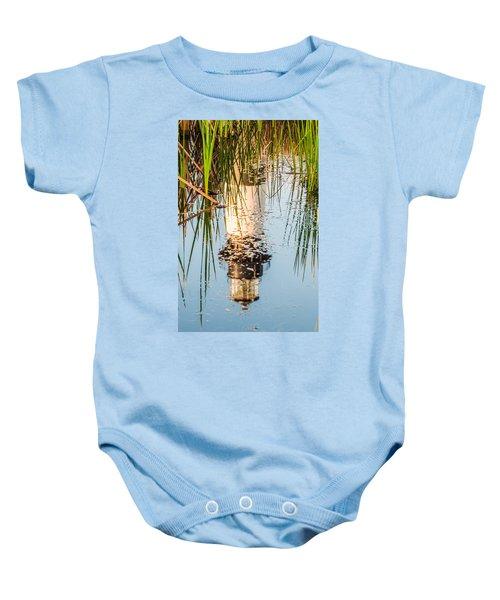 Bodie Island Lighthouse Obx Cape Hatteras North Carolina Baby Onesie