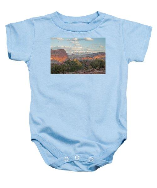 The Goosenecks Capitol Reef National Park Baby Onesie