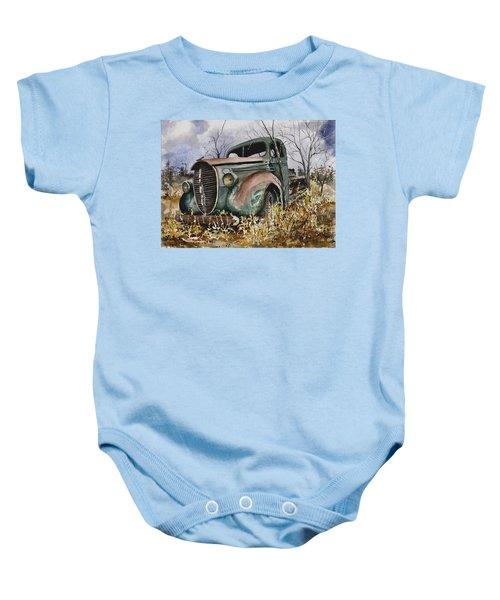 39 Ford Truck Baby Onesie