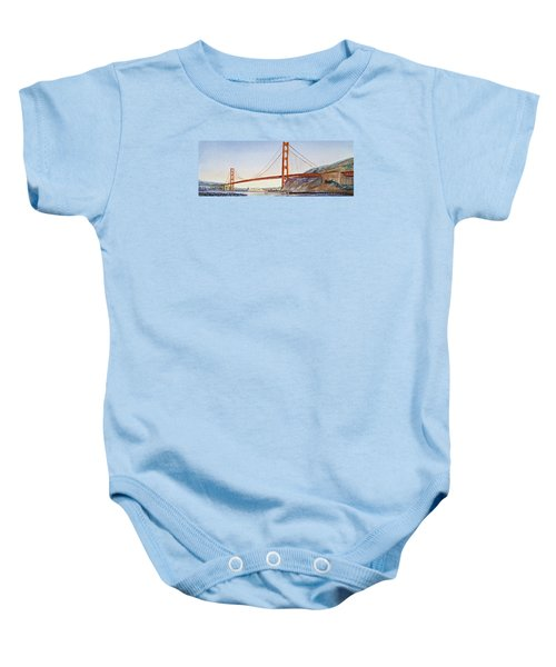 Golden Gate Bridge San Francisco Baby Onesie