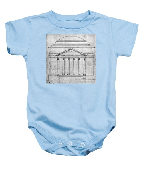 University Of Virginia Baby Onesie