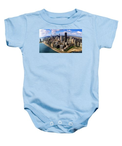 Chicago Il Baby Onesie by Panoramic Images