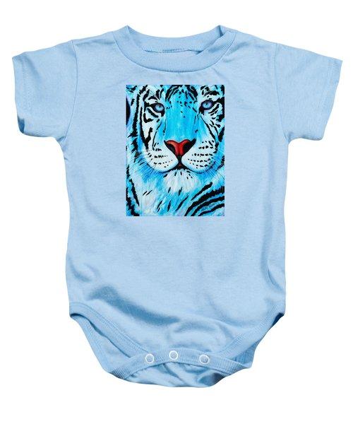 Blue Bengal Baby Onesie