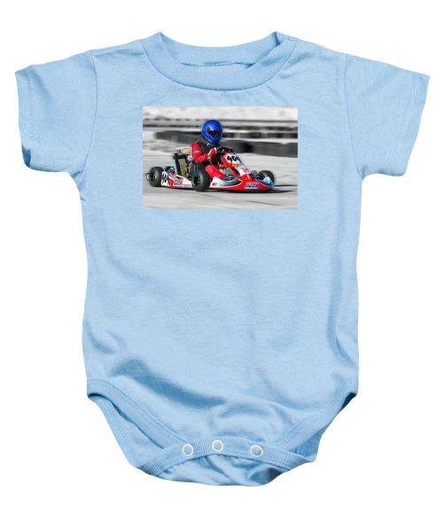 Racing Go Kart Baby Onesie