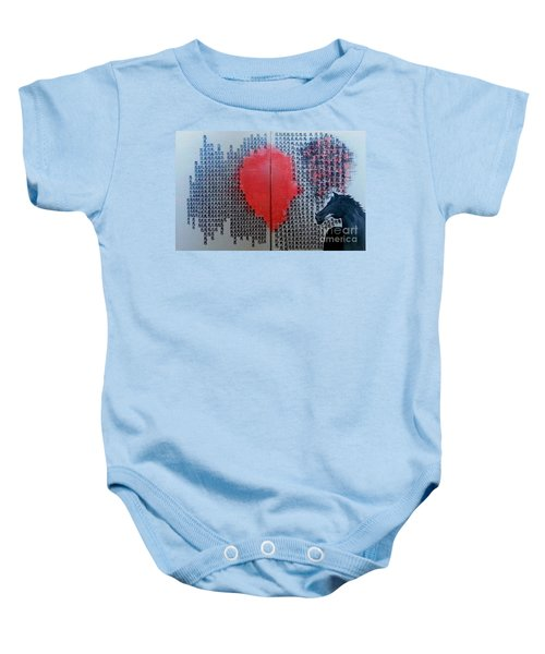 A Glance Of The Wind Baby Onesie