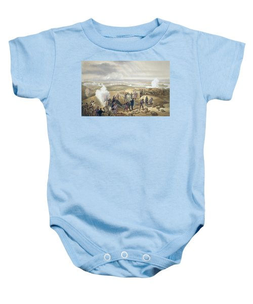 A Hot Day In The Batteries, Plate Baby Onesie