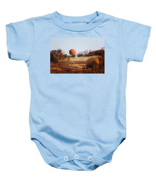A Walk In The Meadow Baby Onesie