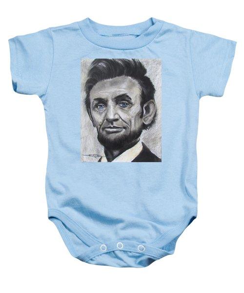 Abraham Lincoln Baby Onesie