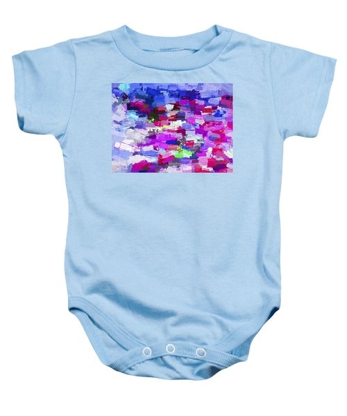 Abstract Artwork A7 Baby Onesie