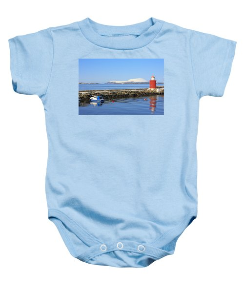 Alesund Lighthouse Baby Onesie