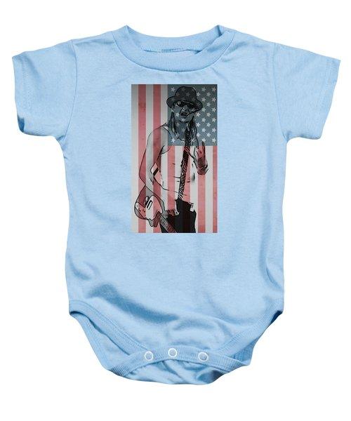 American Badass Baby Onesie
