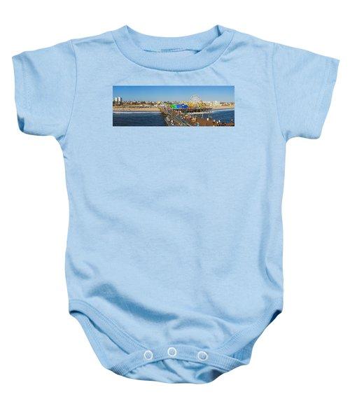 Amusement Park, Santa Monica Pier Baby Onesie