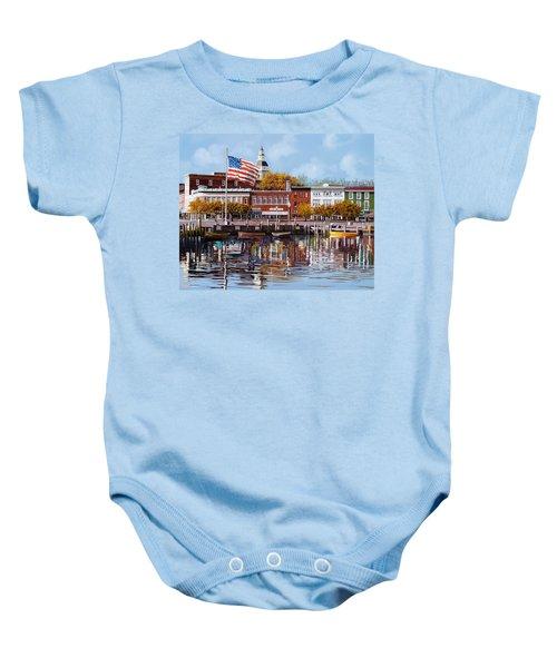 Annapolis Baby Onesie